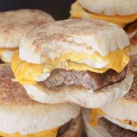 The Best Sausage, Egg and Cheese Breakfast Sandwich