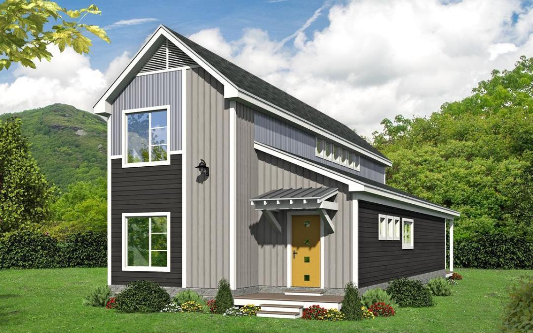 Narrow Lot Home 763-161
