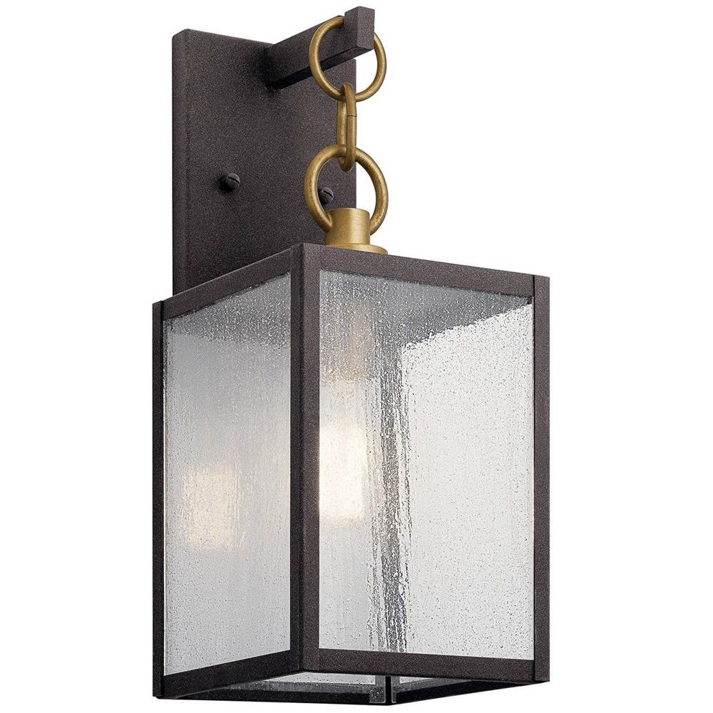 lahden 12 1 light outdoor wall light with clear seeded glass weat