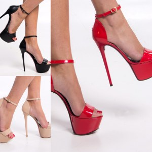 High heels for trendy woman and girl