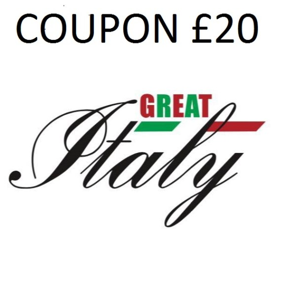COUPON GREAT ITALY