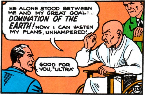 Image result for action comics ultra humanite superman