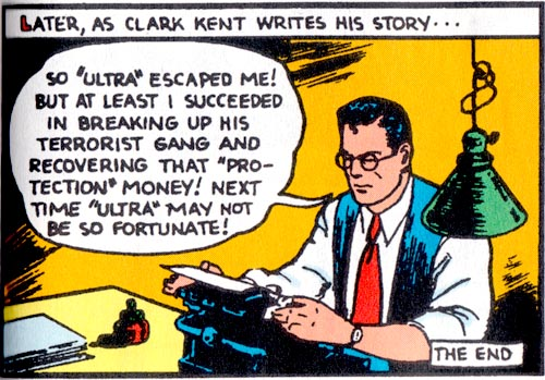 Image result for golden age superman clark kent