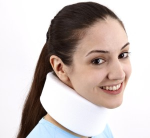 neck collar for treatment of mva injuries