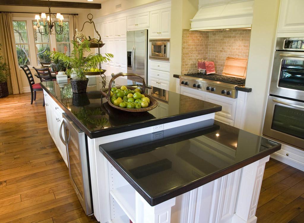 Kitchen Design Gallery - Great Lakes Granite & Marble on Black Granite Countertops  id=64532