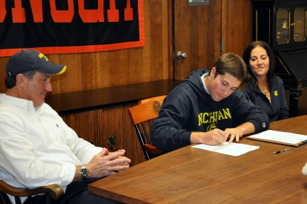 Evan Glaser McDonogh Lacrosse Michigan Wolverines