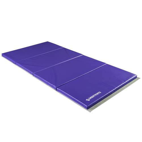 Gym Mat 4x8 Ft X 1 5 Inch V2 Custom Purple Folding
