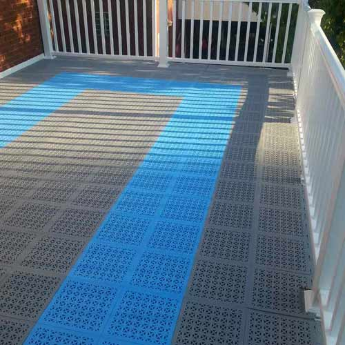 staylock perforated tiles uses of