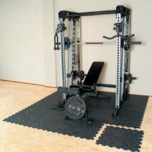 Home Gym Flooring in Basement Areas Home gym flooring for basements