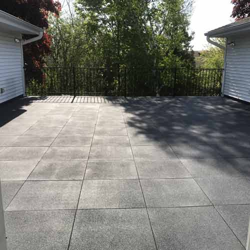 sterling roof top tile 2 inch gray