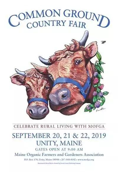 Sept. 20-22 – Common Ground Country Fair, Unity Maine