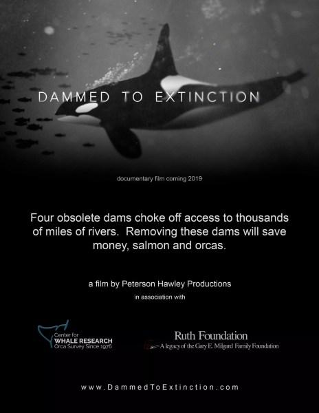 Friday, March 20- Movie: Dammed to Extinction Film