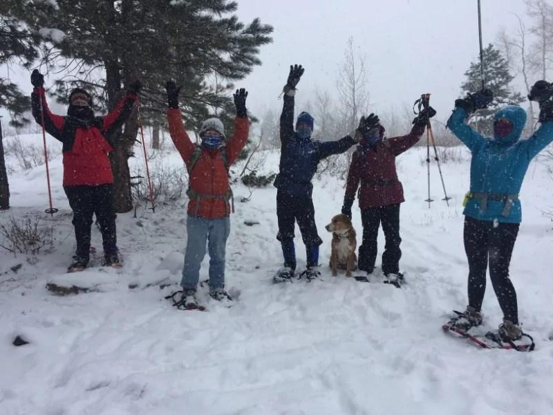 Colorado – South San Juan Broadband snowshoe hike January 23, 2021 10 am to 2 pm