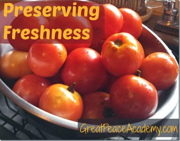 Tomato Freshness