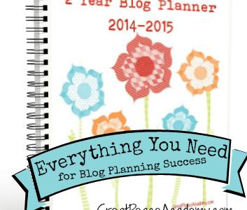 2-Year Blog Planner