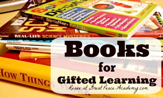 A listing of books for gifted learners at Great Peace Academy