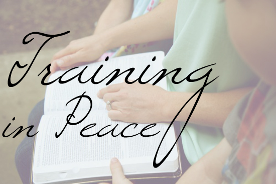 Training Your Child in Peace, devotionals focused on understanding parental responsibility of training a child in the way he should go. | Great Peace Academy