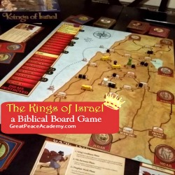 The Kings of Israel a Biblical Board Game Thumbnail
