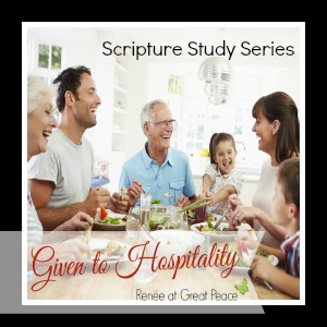 Given to Hospitality Scripture Study | GreatPeaceAcademy.com