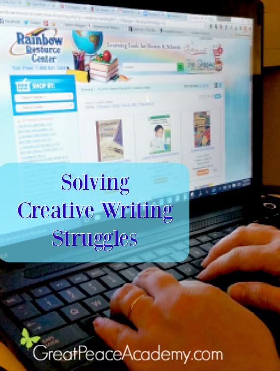 Solving Creative Writing Struggle using Rainbowresource.com   Great Peace Academy #ihsnet @rainbowresource1