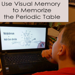 A Visual Exploration for How to Memorize the Periodic Table