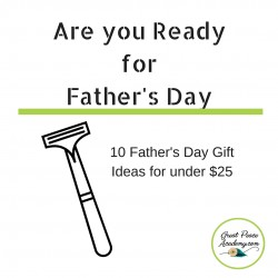 10 Ideas for Father's Day Gifts under $25