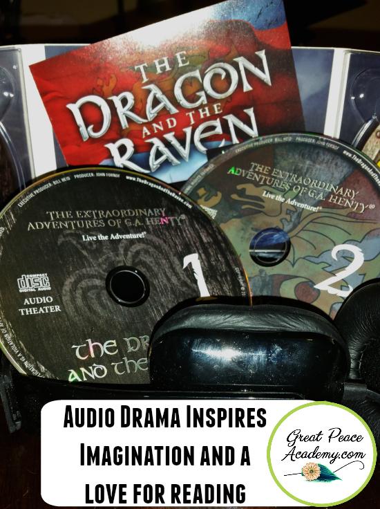 Audio Drama inspires a love for reading | GreatPeaceAcademy.com #ihsnet @HeirloomAudio