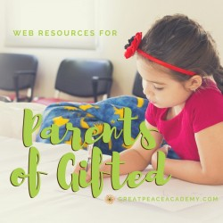 Web Resources for Parents of Gifted
