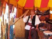 Musical Instrument Vendor at the Great Plains Renaissance Festival