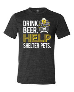 Order your 2019 Pup Crawl T-shirt Today!