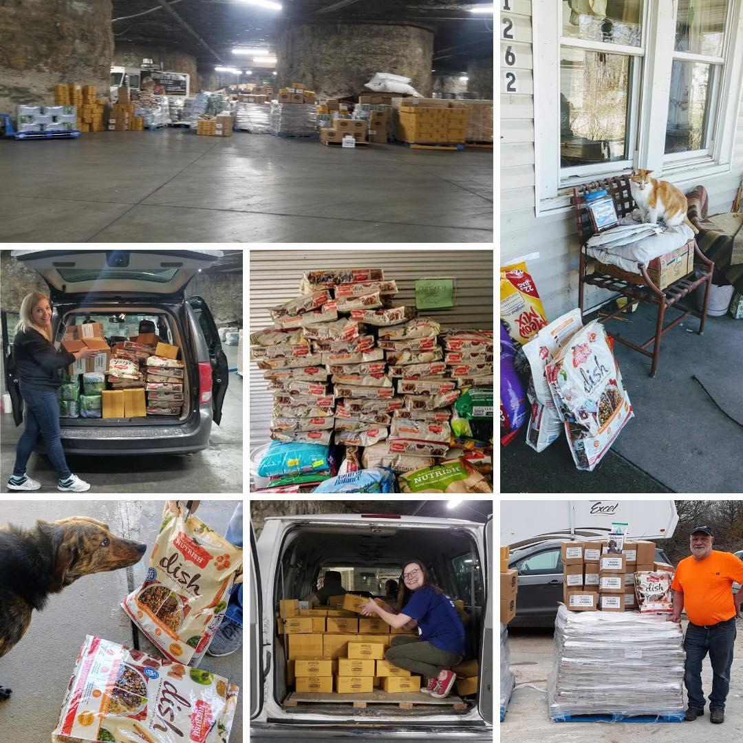 Pet Food Pantry donations