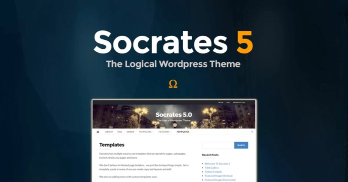 Socrates 5 WordPress Theme