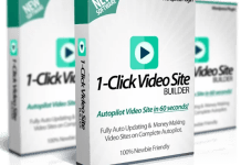 1 click video site builder plugin