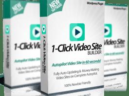 1 click video site builder plugin