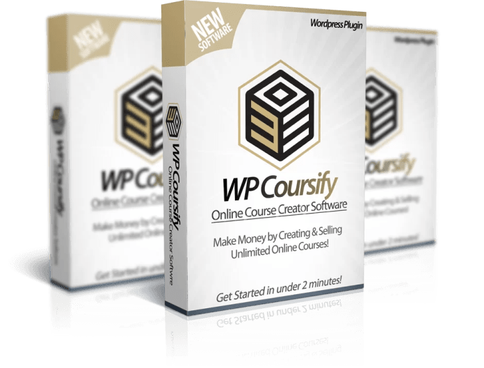 WP Coursify Online Cource Creator Software