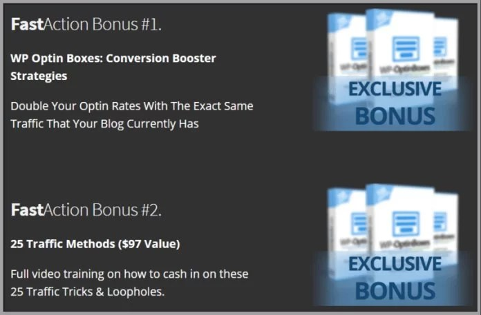 WP Optin Boxes Bonuses Conversion Booster and Traffic Methods