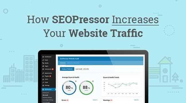 SEOPressor Increase Website Traffic