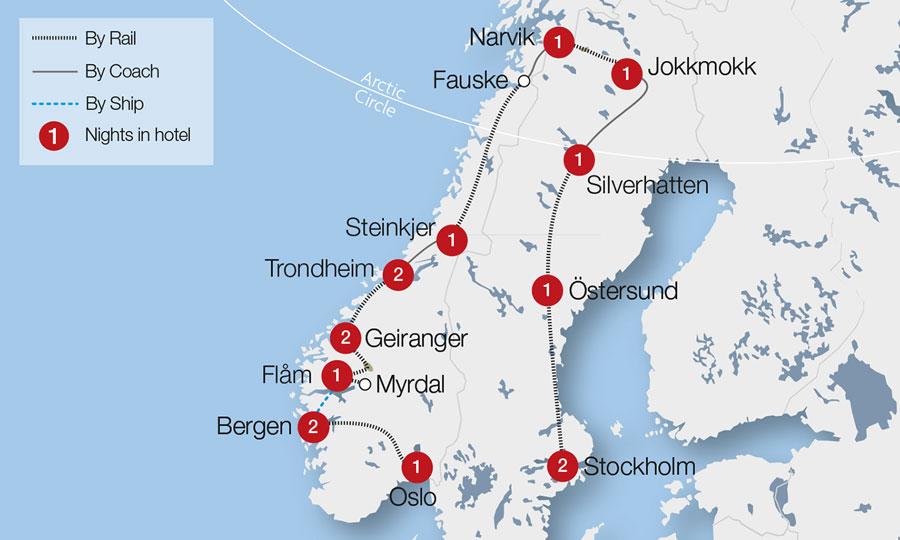 Oslo Northern Lights Tour