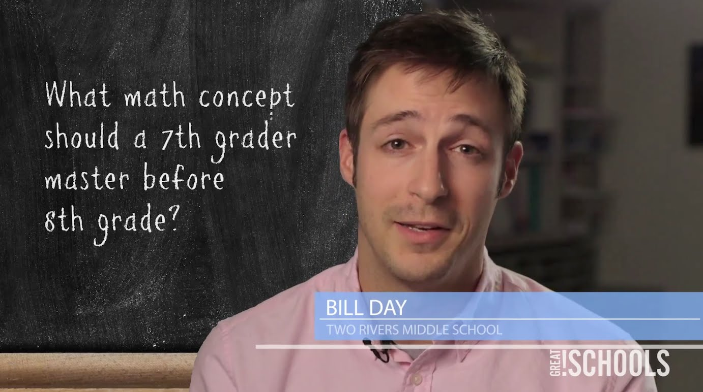 What Math Concept Should A 7th Grader Master Before 8th Grade