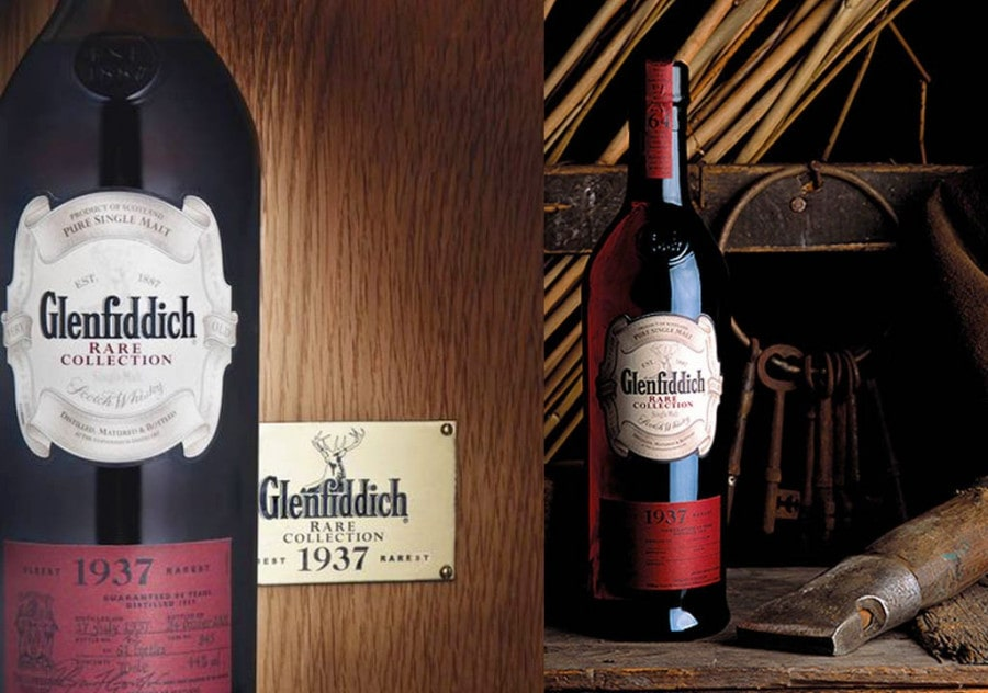 Glenfiddich 1937 Top 10 Most Expensive Whiskeys in the World