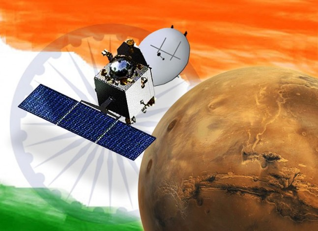 India's entry to Mars