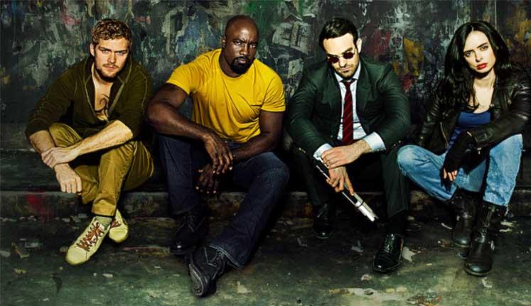 the defenders Top 10 Marvel and DC Superhero Web Series