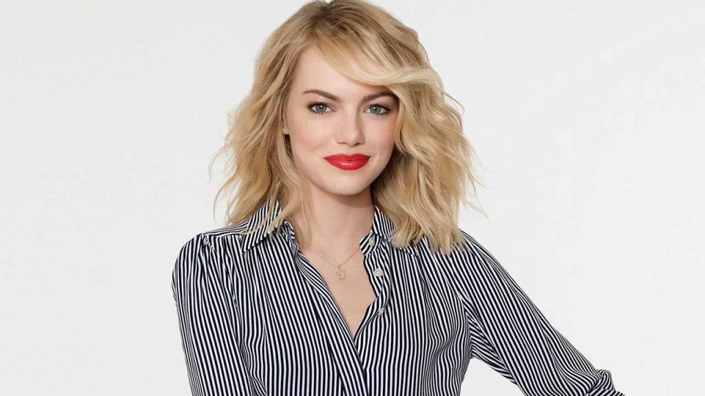 Emma stone Top 10 Most beautiful Hollywood Actresses