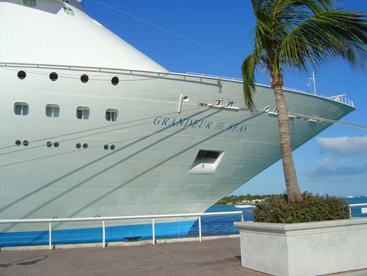 A cruiseliner