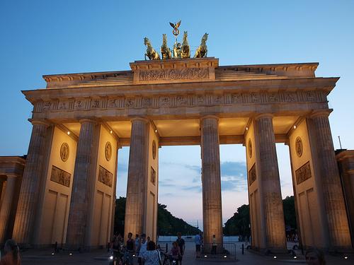 Bradenburg Gate in Berlin