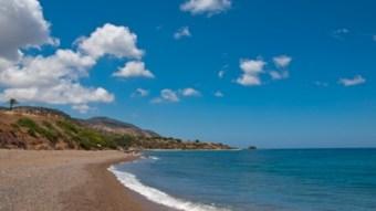 Lovely sandy beach in Cyprus