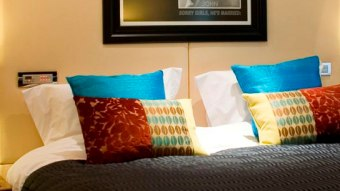 Hard Days Night Hotel bed