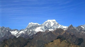 The Himalayas - highest peaks in the world