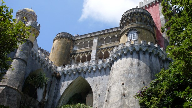 Fairy tale castle in Sintra