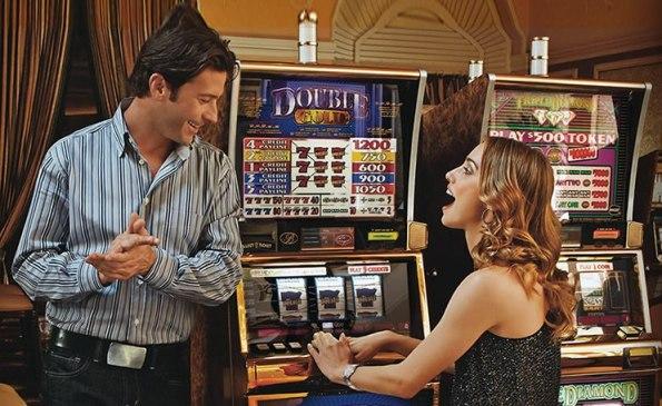 Gamble at the slots